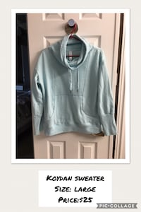 blue pull over hoodie North Middlesex, N0M