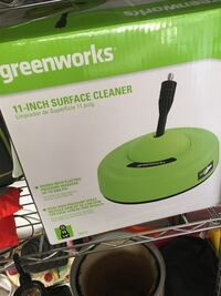 "greenworks 11"" surface cleaner"