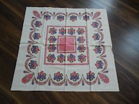 "*Vintage* 35"" x 35"" Square Table cloth Morinville"