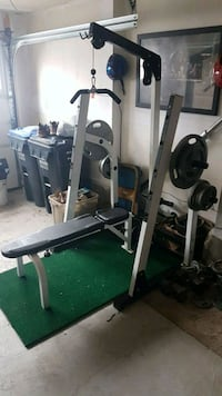 black and gray exercise equipment Brampton, L7A 0A8