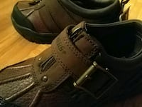 pair of brown leather shoes Brampton, L6X 4S8