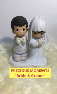 "PRECIOUS MOMENTS ""Bride and Groom"" Figurine Toronto, M4S 1Z2"