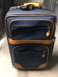 LL bean carry on rolling suitcase