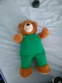 brown and green bear plush toy Syracuse, 13208