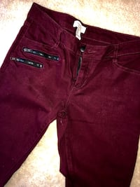 Forever21 burgundy jeans! Soo cute for Fall Chantilly, 20152