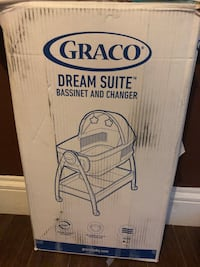 Baby Bassinet 2 in 1 Diaper changer and sleeper