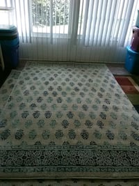 Blue and light blue area rug  Sebring