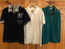 Boys Polo Style Shirts, Sizes 5/6, Lot of 3