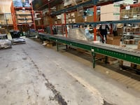 Powered roller conveyor system.  Mississauga, L5J 4P4