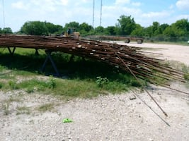 Oil field Rods used..3/4. ×25 feet