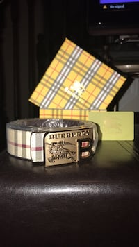 Burberry Belt London