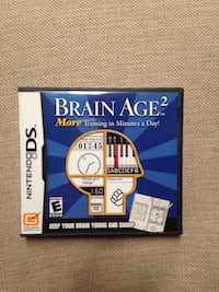 Brain Age 2 More Training In Minutes A Day Game For Nintendo DS Works