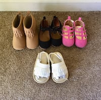 Size 12-18 month baby girl shoes North Lauderdale, 33068
