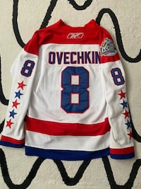 Ovechkin Jersey Winter Classic 2011 Size 56 With Fighter Strap Vaughan, L4L 7G9