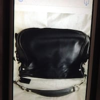 Coach HoBo Bag 100 percent real black leather  JACKSON