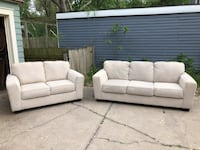TODAY ONLY!!!! Ashley Furniture Sofa and Loveseat - Like NEW!  Wichita, 67208