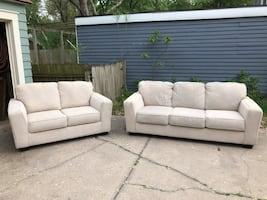 Ashley Furniture Sofa and Loveseat - Like NEW!