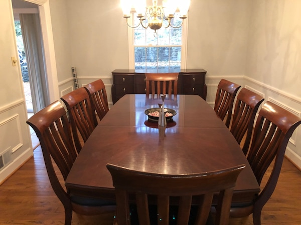 Dining Room Table Set Bernhardt Paris Collection Beautiful Wood Sy And Ready For A New Home