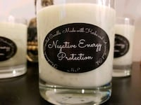 Handmade negative energy protection candle Toronto, M9W 2J2
