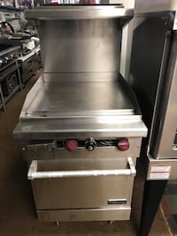 """Therma-Tek TMD24-24G-1N Range with 24"""" Griddle Top & Space-Saver Oven"""
