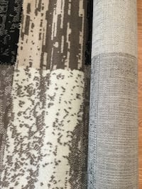 Brand new black and beige area rug  5 ft x7 ft ( stain resistant) Brampton, L6V 4K9