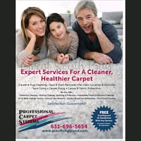 Carpet, tile & grout and upholstery steam cleaning