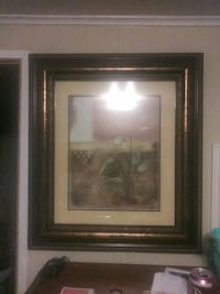 brown wooden framed painting of trees Layton, 84041