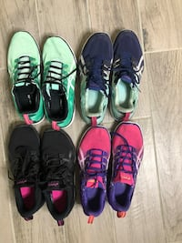 8.5 Four pairs of assorted shoes McKinney, 75071