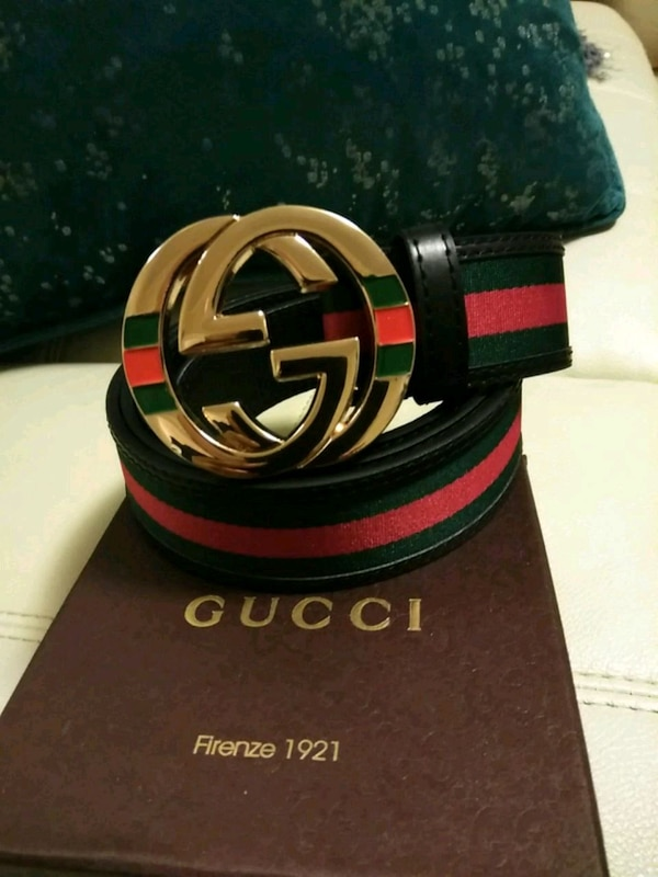 b39516fa5be Used black Gucci leather belt with box for sale in Medford - letgo