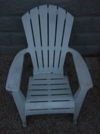 white wooden rocking chair with ottoman Virginia Beach, 23451