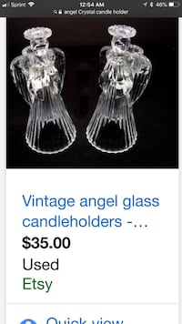 Crystal candle holder Indianapolis, 46268