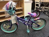 "New 20"" Leilani Bike w/ Helmet"