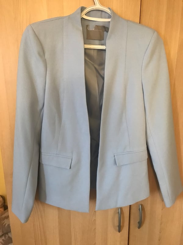 Brand New ASOS women's Small Blazer in Blue 9af58e3c-44cc-4f76-aef9-16d3e7b07ece