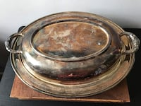 Silver Bowl Platter/Decor Hagerstown, 21742