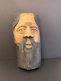 Wood Spirit Carvings Haiti 1998 Tree Wood Wall Mount Collectable
