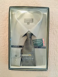 Dress shirt & tie set ~ NEW in package Toronto, M4V 1Y9