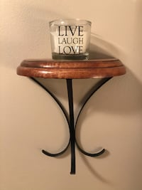 Oak Wall Shelf Decor