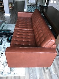 EQ3 - Reverie Leather Couch TORONTO