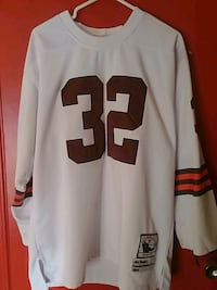 Jim Brown 1964 Mitchell & Ness Throwback