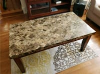 brown and white floral area rug Alexandria, 22315
