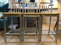 Bar Stools (3) - Crate and Barrel Greater London