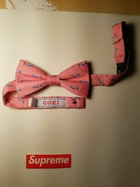 red and blue Izod bow tie Columbia