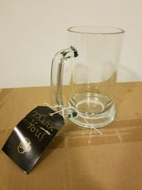 Glass Beer Mugs - Party Favors
