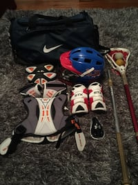 Lacrosse Equipment and Nike Bag Sewell, 08080