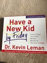 Audio book cd-have a new kid by Friday  Columbia, 21046