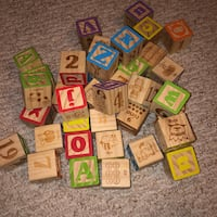 EUC wooden blocks (40 count) Toronto, M1R 2N3