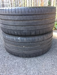 2 tires 245/35r21 Michelin $50  Leesburg