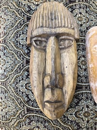 Handcarved wooden art from Panama Alexandria, 22309