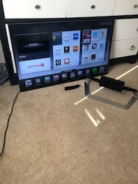 Like New 47 Inch LG Smart Television w/Remote & Base Stand