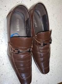 Morrati brown shoes size 9.5  / 43 Coquitlam, V3K 6Y2
